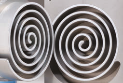 Zasada działania suchych pomp próżniowych typu scroll